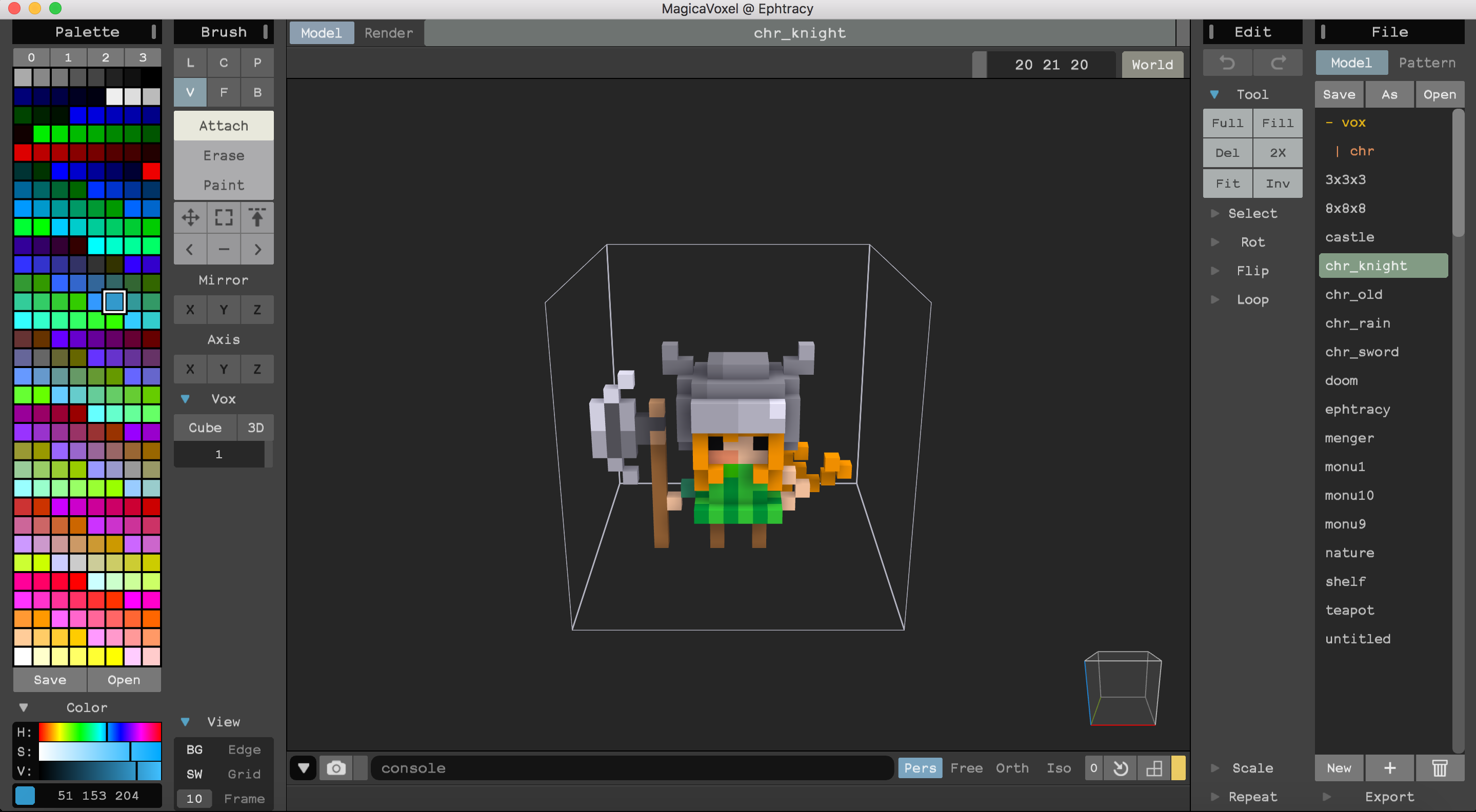 MagicaVoxel for Mac