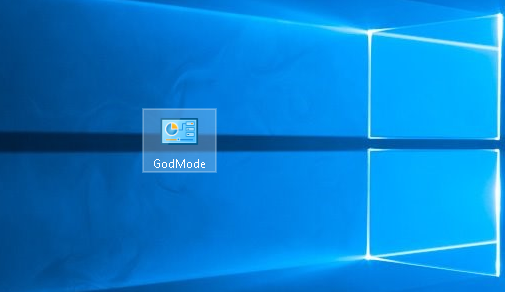 Windows 10 режим бога